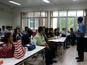 Lectures Attending a Workshop on Educational Administration Thesis Proposal Development