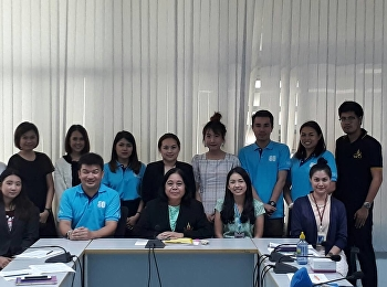 Staff of the Program Attending a KM Meeting for the Fiscal Year 2018