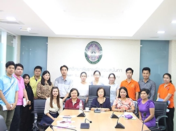 Staff of the Program Attending a KM Meeting for the Fiscal Year 2019