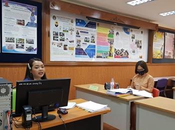 การสอบป้องกันวิทยานิพนธ์ ของ นางสาวนรีเนตร เพ็งพิน