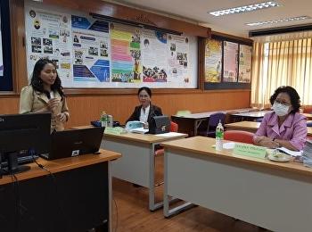 The Thesis Examinations of Miss Waree Sorasamrit