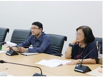 การประชุมคณะกรรมการสรรหาแนวปฏิบัติที่ดีของกลุ่มความรู้ ประชุมกับผู้ทรงคุณวุฒิด้านการจัดการความรู้