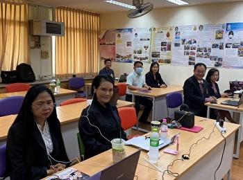 ปฐมนิเทศออนไลน์นักศึกษาจีน รุ่น24 สาขาวิชาการบริหารการศึกษา